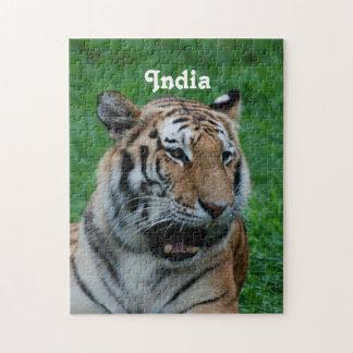 インドのベンガルトラ ジグソーパズル