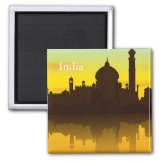 インドのヴィンテージの観光事業旅行 マグネット