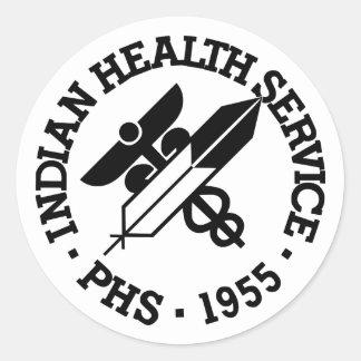 インドの保健業務 ラウンドシール