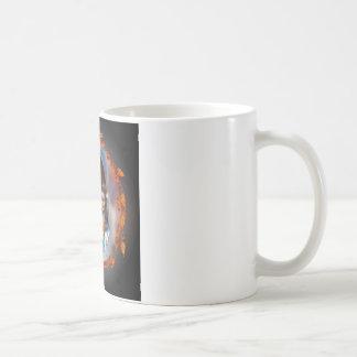 インドの円のマグ コーヒーマグカップ