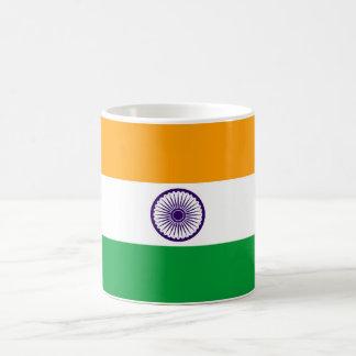 インドの国の長い旗の国家の記号共和国 コーヒーマグカップ