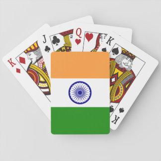 インドの国民の世界の旗 トランプ