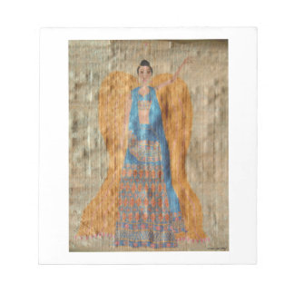 インドの天使 ノートパッド