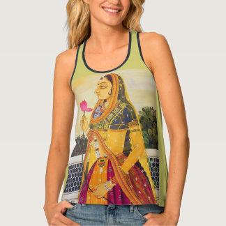 インドの女の子 タンクトップ