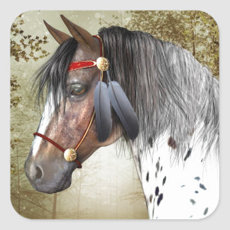 インドの子馬 スクエアシール