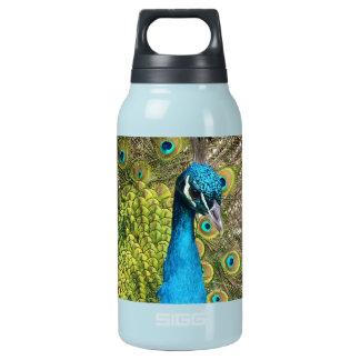 インドの孔雀 断熱ウォーターボトル