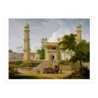 インドの寺院は、原住民ul捕らえのモスクであると言いました ポストカード