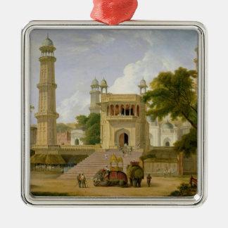インドの寺院は、原住民ul捕らえのモスクであると言いました メタルオーナメント