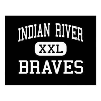 インドの川-ブレーブス-高チェサピークヴァージニア ポストカード