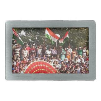 インドの幸せなお祝いのスタイル 長方形ベルトバックル