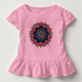 インドの曼荼羅 トドラーTシャツ