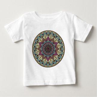 インドの曼荼羅 ベビーTシャツ