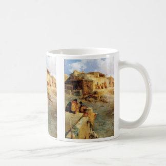 インドの村落ラグナニューメキシコ- 1906年 コーヒーマグカップ