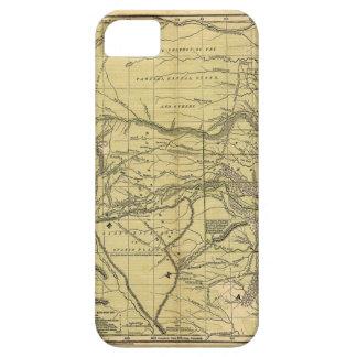 インドの領域のJosiah Gregg 1844の地図 iPhone SE/5/5s ケース