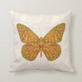 インドの(昆虫)オオカバマダラ、モナークの枕 クッション