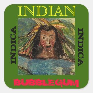 インドインディアンBUBBLEGUM スクエアシール