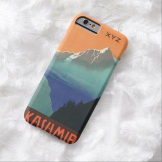 インドカシミール旅行ポスターカスタムなモノグラムのケース BARELY THERE iPhone 6 ケース