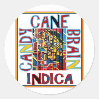 インドキャンディ・ケーンの頭脳 ラウンドシール