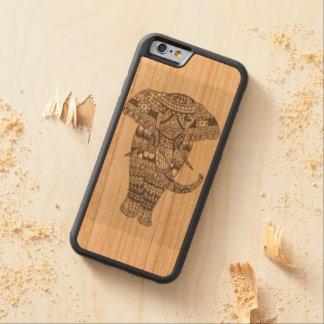 インドゾウ CarvedチェリーiPhone 6バンパーケース