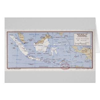 インドネシアおよびポルトガル語ティモール(1962年)の共和国 カード