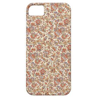 インドネシアのろうけつ染めによってはiphone 5/5Sの箱が開花します iPhone SE/5/5s ケース