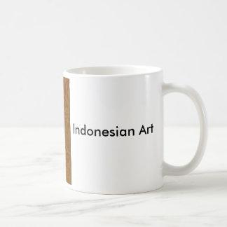 インドネシアのろうけつ染めのマグ コーヒーマグカップ