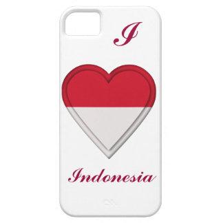 インドネシアのインドネシア人の旗 iPhone SE/5/5s ケース