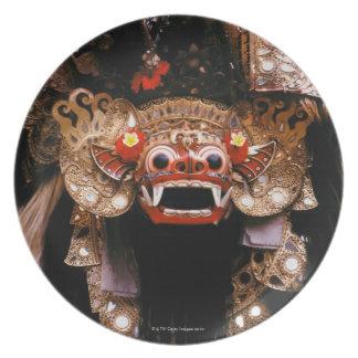 インドネシアのマスク プレート