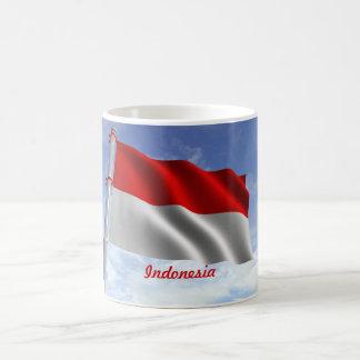 インドネシアの旗のマグ コーヒーマグカップ