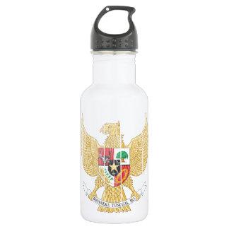 インドネシアの紋章付き外衣 ウォーターボトル
