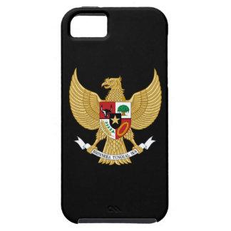 インドネシアの紋章付き外衣 iPhone SE/5/5s ケース