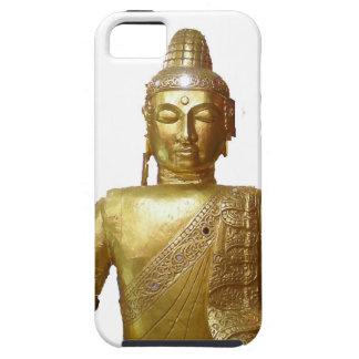 インドネシアの金ゴールドの仏の彫像 iPhone SE/5/5s ケース