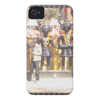 インドミュージシャンの芸術家の文化的なショーの彫像 Case-Mate iPhone 4 ケース