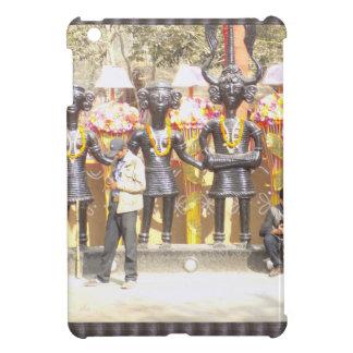 インドミュージシャンの芸術家の文化的なショーの彫像 iPad MINIケース