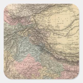 インド中央アジア スクエアシール