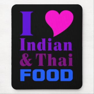 インド及びタイの食糧mousepad 2 マウスパッド
