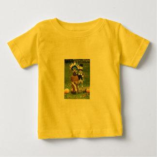 インド犬及び巡礼者CAT ベビーTシャツ
