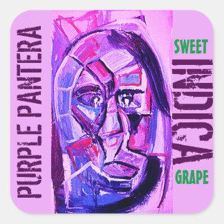 インド紫色PANTERA スクエアシール
