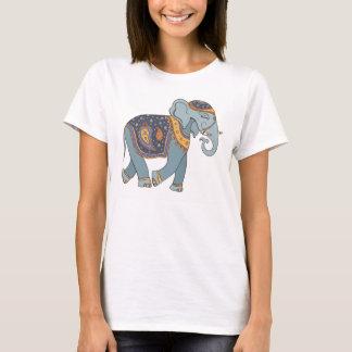 インド象のTシャツレディース Tシャツ