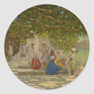 インド1920年、絹商人 ラウンドシール