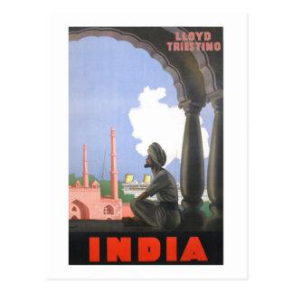 インド1927 ポストカード
