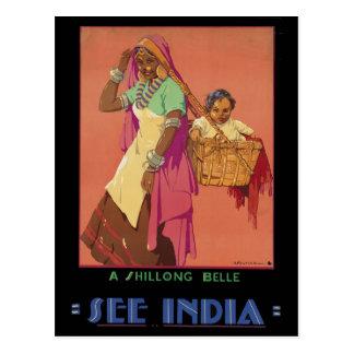 インド ポストカード