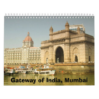 インド、ムンバイのの出入口カレンダー カレンダー