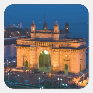 インド、ムンバイ(ボンベイ): インドの出入口/ スクエアシール