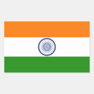 インド 長方形シール