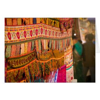 インド、Goa、Baga: 土曜日の夕べの市場(NR) カード