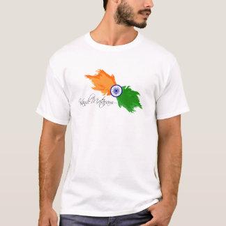 インド: Vande Mataram Tシャツ