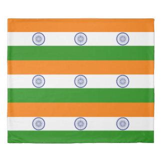 インドAshokaのチャクラの旗 掛け布団カバー