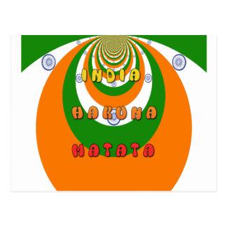 インドMATATA HAKUNA ポストカード