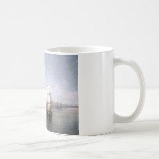 イヴァンAivazovsky著海岸の町の眺め コーヒーマグカップ